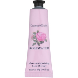 Crabtree & Evelyn Rosewater Intensive Hydrating Cream For Hands  25 g