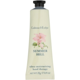 Crabtree & Evelyn Summer Hill® creme intensivo hidratante para mãos  25 g