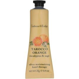 Crabtree & Evelyn Tarocco Orange intenzívny hydratačný krém na ruky  25 g