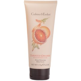 Crabtree & Evelyn Tarocco Orange telový sprchový peeling  175 g