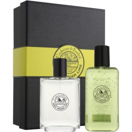 Crabtree & Evelyn West Indian Lime Geschenkset II.  Eau de Cologne 100 ml + Duschgel 300 ml