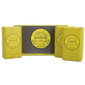 Crabtree & Evelyn West Indian Lime твърд сапун  3x150 гр.