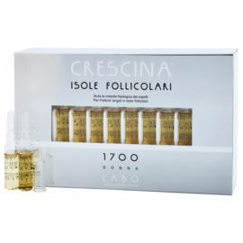 Crescina HAIR FOLLICULAR ISLANDS 1700 Ampullen gegen beginnenden Haarausfall für Damen  20 x 3,5 ml