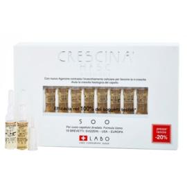 Crescina HFSC AGENONE 500 ampule proti střednímu řídnutí vlasů pro muže  10 x 3,5 ml