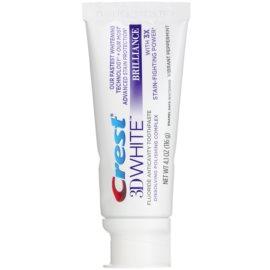 Crest 3D White Brilliance fogkrém A fényes fehér fogakért íz Vibrant Peppermint 116 g