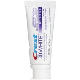 Crest 3D White Brilliance pasta de dinti pentru dinti albi si stralucitori aroma Vibrant Peppermint 116 g