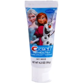 Crest Pro-Health Jr. Disney Frozen zubní pasta pro děti pro posílení zubní skloviny příchuť Minty Breeze (Strengthens Enamel, Fights Cavities) 119 g