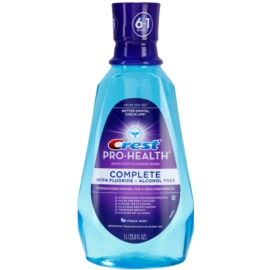 Crest Pro-Health Complete osvěžující ústní voda 6 v 1 příchuť Fresh Mint (With Fluoride, Alcohol Free) 1000 ml