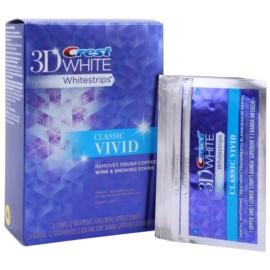 Crest 3D White Whitestrips Classic Vivid відбілюючі смужки для зубів  12 кс