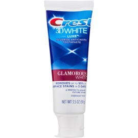 Crest 3D White Luxe Glamorous White Whitening Toothpaste with Fluoride Flavour Vibrant Mint 99 g