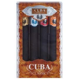 Cuba Classic ajándékszett I.  Eau de Toilette 4 x 35 ml