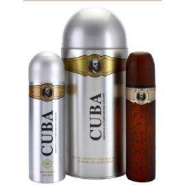 Cuba Gold ajándékszett VII.  Eau de Toilette 100 ml + dezodor szpré 200 ml