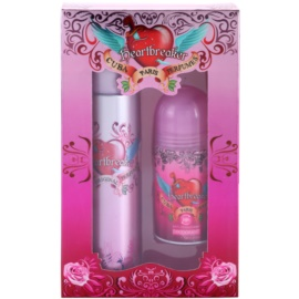 Cuba Heartbreaker Gift Set I.  Eau De Toilette 100 ml + Roll-on Deodorant 50 ml
