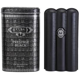 Cuba Prestige Black eau de toilette férfiaknak 90 ml