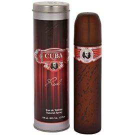 Cuba Red Eau de Toilette voor Mannen 100 ml