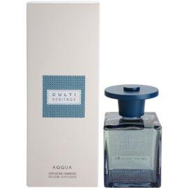 Culti Heritage Blue Arabesque dyfuzor zapachowy z napełnieniem 500 ml mniejsze opakowanie (Aqqua)