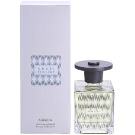 Culti Heritage Clear Wave Aroma Diffuser mit Nachfüllung 500 ml kleinere Packung (Aqqua)