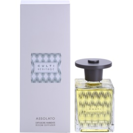 Culti Heritage Clear Wave Aroma Diffuser mit Nachfüllung 500 ml kleinere Packung (Assolato)