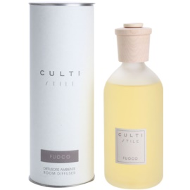 Culti Stile Aroma Diffuser mit Nachfüllung 500 ml Grosspackung (Fuoco)