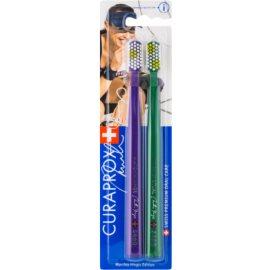Curaprox 5460 Ultra Soft Martina Hingis Edition brosses à dents 2 pièces