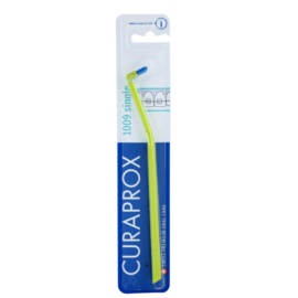 Curaprox 1009 Single единична четка за зъби за лица, носещи зъбни брекети