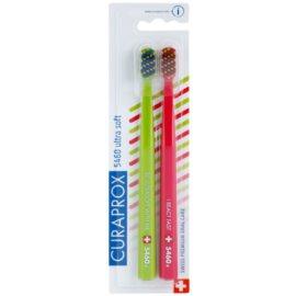 Curaprox 5460 Ultra Soft Stripes cepillo de dientes 2 uds