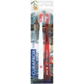Curaprox 5460 Ultra Soft Swiss Edition - Luzern zubní kartáčky 2 ks