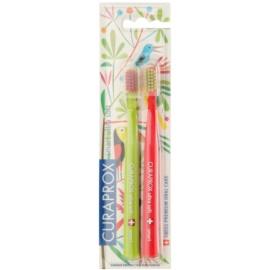 Curaprox 7600 Smart Ultra Soft Jungle Edition escovas de dentes 2 unidades