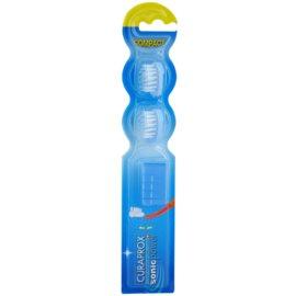 Curaprox Sonic Power głowica wymienna do sonicznej szczoteczki do zębów na baterie 2 szt. Blue