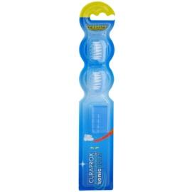 Curaprox Sonic Power náhradní hlavice pro sonický bateriový zubní kartáček 2 ks Blue