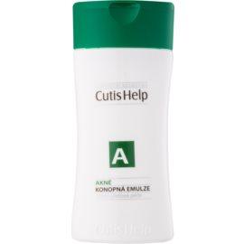CutisHelp Health Care A - Akné konopná čisticí emulze pro problematickou pleť, akné  100 ml
