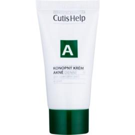 CutisHelp Health Care A - Acne Tagescreme mit Hanf für problematische Haut, Akne  30 ml