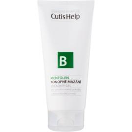 CutisHelp Health Care B - Mentolen gel refrescante de cáñamo con mentol para músculos y articulaciones  200 ml
