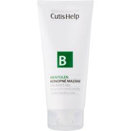 CutisHelp Health Care B - Mentolen gel revigorant cu mentol si canepa muschii si articulatiile  200 ml