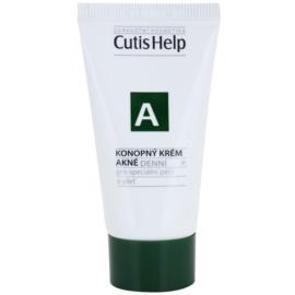 CutisHelp Health Care A - Akné konopný denní krém pro problematickou pleť, akné  30 ml