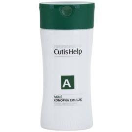 CutisHelp Health Care A - Acne Reinigungsemulsion mit Hanf für problematische Haut, Akne  100 ml