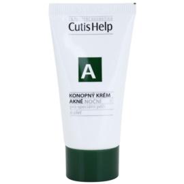 CutisHelp Health Care A - Acne kenderes éjszakai krém problémás és pattanásos bőrre  30 ml