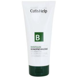 CutisHelp Health Care B - Mentolen kühlendes Gel mit Hanf und Menthol für Muskeln und Gelenke  200 ml