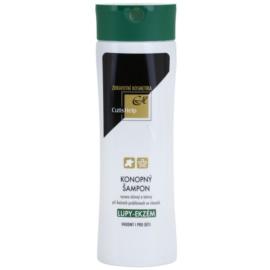 CutisHelp Health Care P.E. - Dandruff - Eczema шампунь з екстрактом коноплі проти лупи та при проявах екземи  200 мл