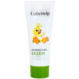 CutisHelp Mimi creme de dia com cânhamo para sinais de eczema para bebés 0+  75 ml