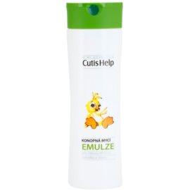 CutisHelp Mimi konopná umývacia emulzia pre deti od narodenia  200 ml