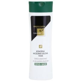 CutisHelp Health Care Sensi-Base mizellares Gel-Wasser mit Hanf für empfindliche und allergische Haut  200 ml