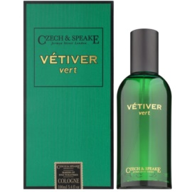 Czech & Speake Vetiver Vert acqua di Colonia unisex 100 ml