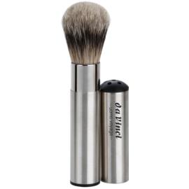da Vinci Uomo Voyage pensula de barbierit pentru calatorii pentru barbati No. 295 (Badger Hair - Silver Tips)