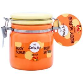 Dairy Fun Peach tělový peeling  300 g