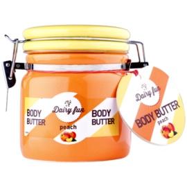 Dairy Fun Peach manteiga corporal   300 g
