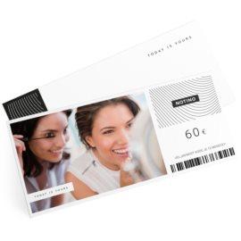 darilni bon elektronski v vrednosti 60 €