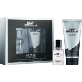 David Beckham Beyond Forever coffret cadeau I.  eau de toilette 40 ml + gel de douche 200 ml