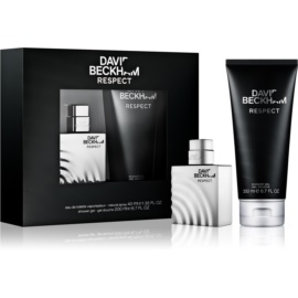David Beckham Respect Gift Set I.  Eau De Toilette 40 ml + Shower Gel 200 ml