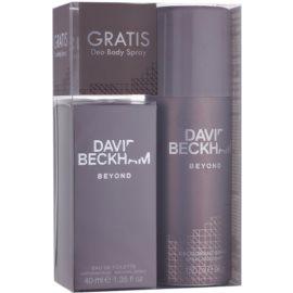 David Beckham Beyond Gift Set  I.  Eau de Toilette 40 ml + Deodorant spray 150 ml